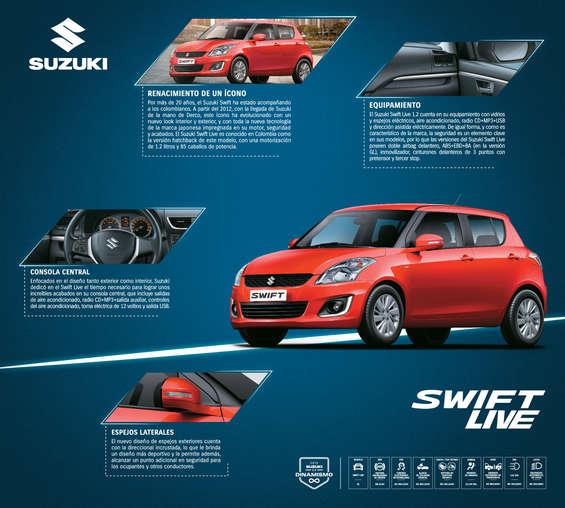Ofertas de Suzuki Autos, Swift Live