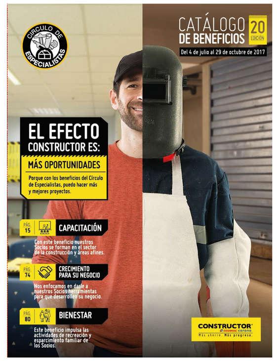 Ofertas de Constructor, Catálogo de Beneficios Ed. 20