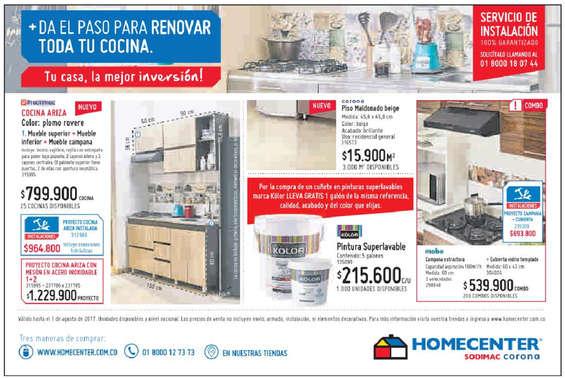 Ofertas de HomeCenter, Tu casa, la mejor inversión!