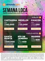 Ofertas de Almundo.com, Semana Loca - ¡Precios increíbles para viajar todo el año!