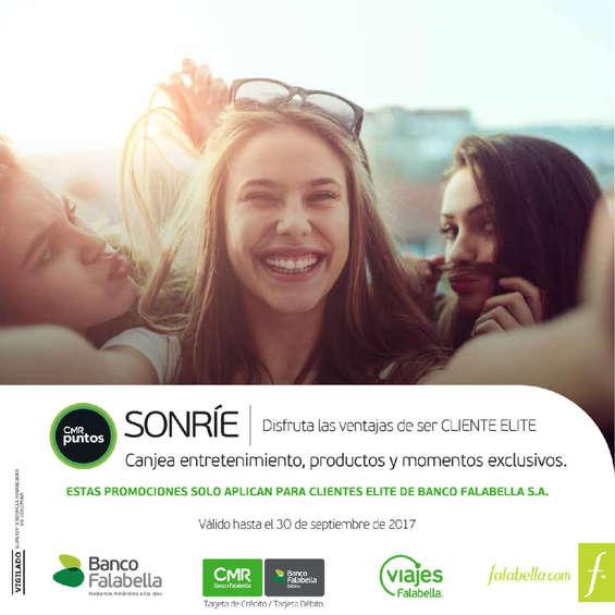 Ofertas de Banco Falabella, Catálogo Cliente Elite - Septiembre 2017