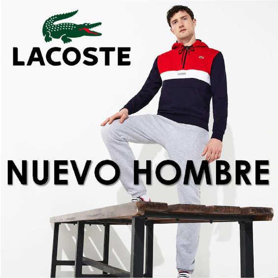 Ofertas de Lacoste, Nuevo Hombre