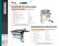 Catálogo Máquinas