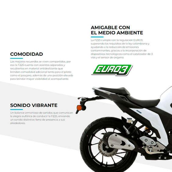 Ofertas de Yamaha Motors, Yamaha Motors_Yamaha FZ25