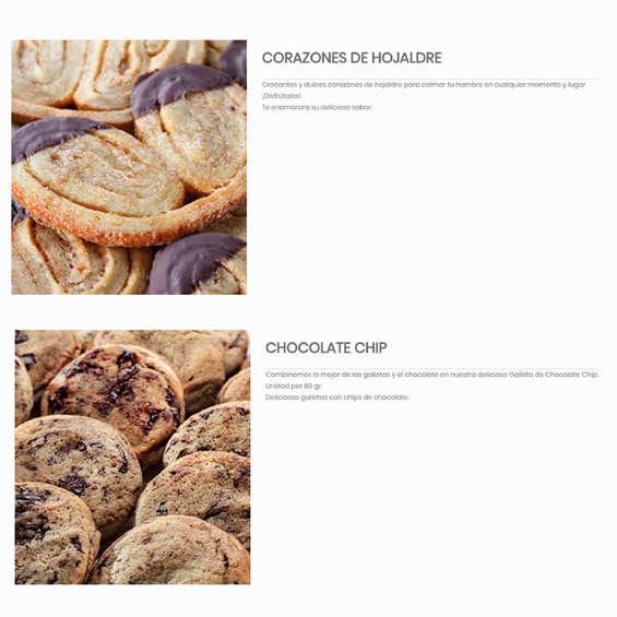 Ofertas de American Cheesecakes, Galletas y Brownies