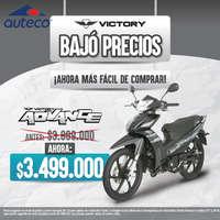 Victory Bajó Precios - ¡Ahora más fácil de comprar!