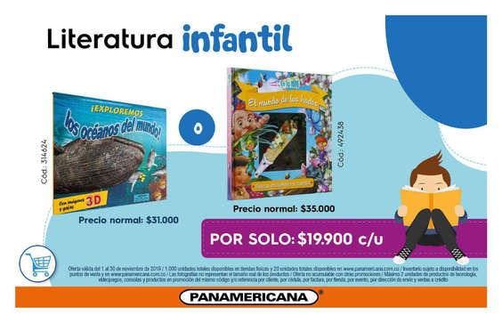 Ofertas de Librería Panamericana, Literatura Infantil