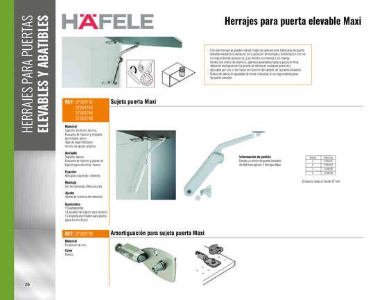 Ofertas de Madecentro, Catálogo 2019-2020 Herrajes