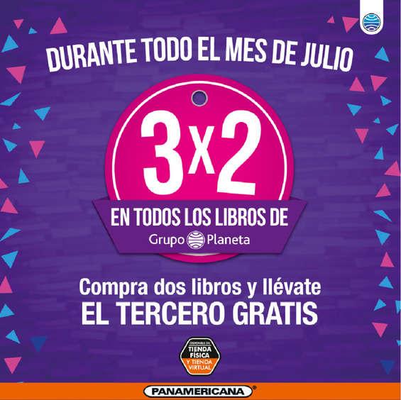 Ofertas de Librería Panamericana, Promoción de Julio
