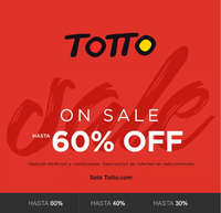 On Sale Hasta 60% Off