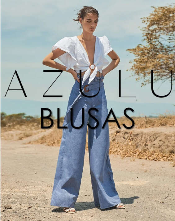 Ofertas de Azulu, Blusas