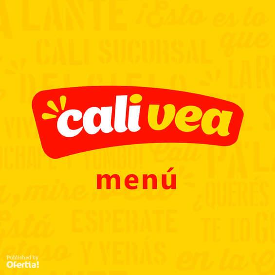 Ofertas de Cali Vea, Menú