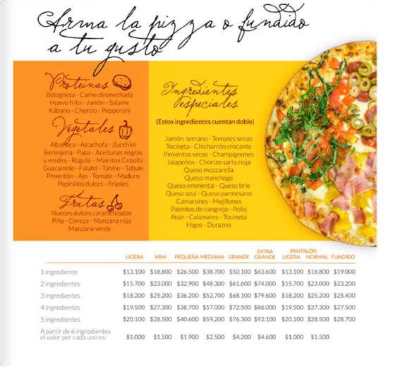 Ofertas de Karen's Pizza, Menú Desde Siempre Natural