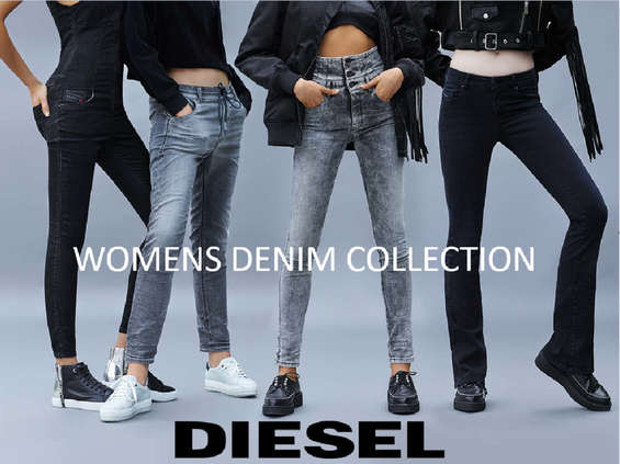 Ofertas de Diesel, Denim Woman