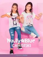 Ofertas de Nauty Blue, Camisetas Niña