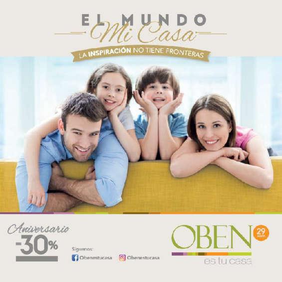 Ofertas de Oben, Catálogo Aniversario 2017