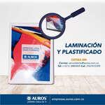 Ofertas de Auros, Laminación y plastificado