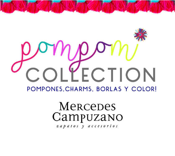 Ofertas de Mercedes Campuzano, Pompom Collection - Pompones, charms, borlas y color!