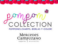 Pompom Collection - Pompones, charms, borlas y color!