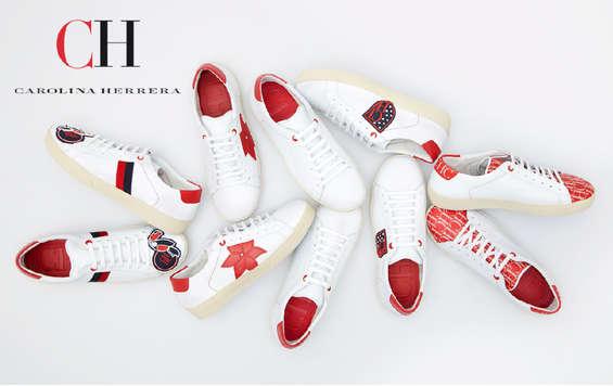 Ofertas de Carolina Herrera, CH Signature Sneaker