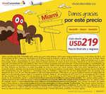 Ofertas de Viva Colombia, Danos gracias por este precio