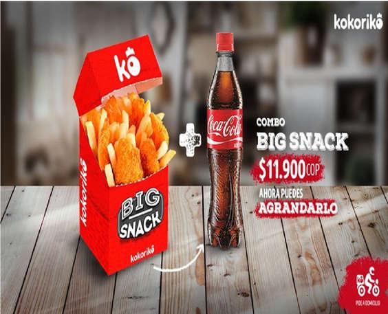 Ofertas de Kokoriko, Big Snack