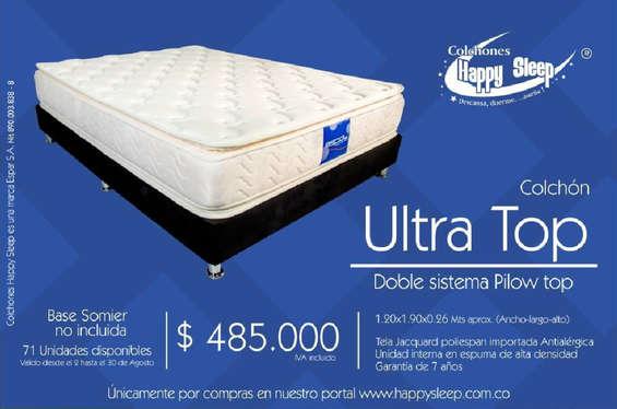 Ofertas de Happy Sleep, Colchón Ultra Top