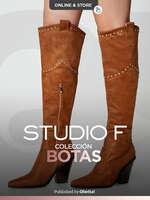 Ofertas de Studio F, Botas