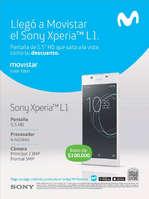 Ofertas de Movistar, Llegó a Movistar el Sony Xperia L1