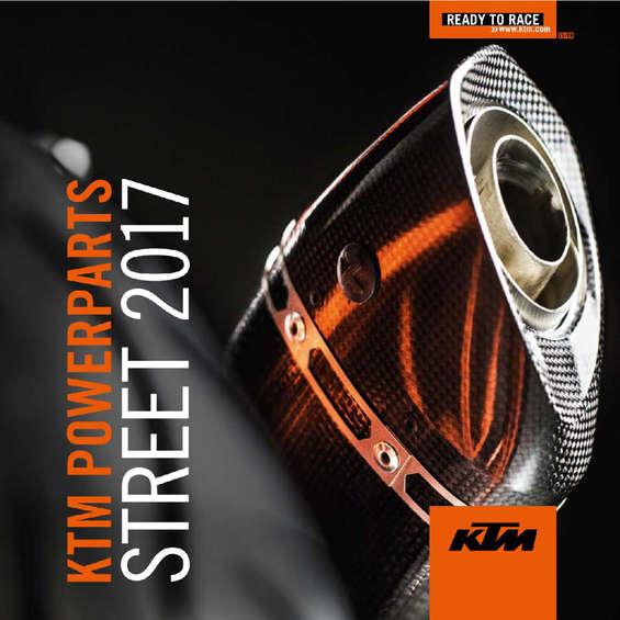 Ofertas de KTM, Powerparts Street 2017 - Español e Inglés