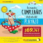 Ofertas de Viva Colombia, En nuestro cumpleaños disfruta del Playazo