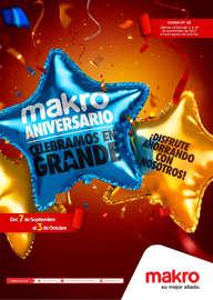 Makro Aniversario - Celebra en grande