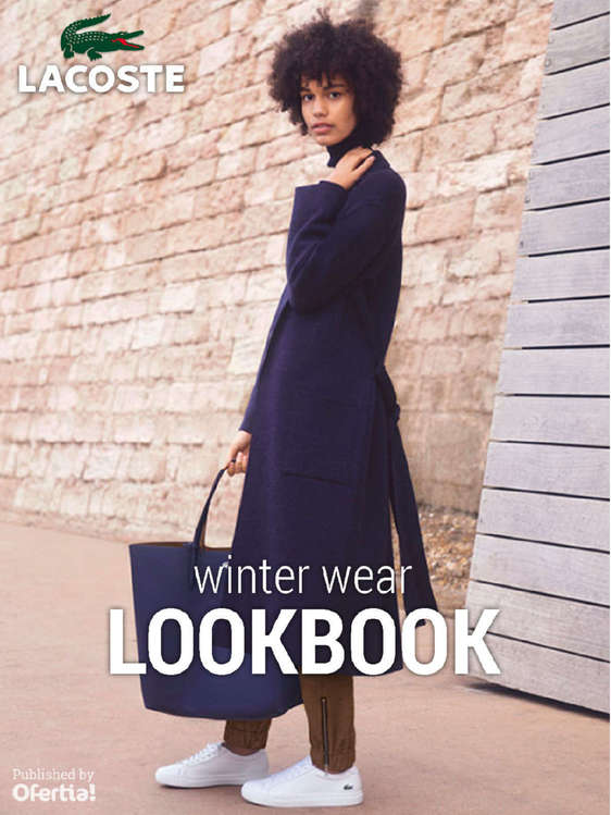 Ofertas de Lacoste, LookBook winter wear