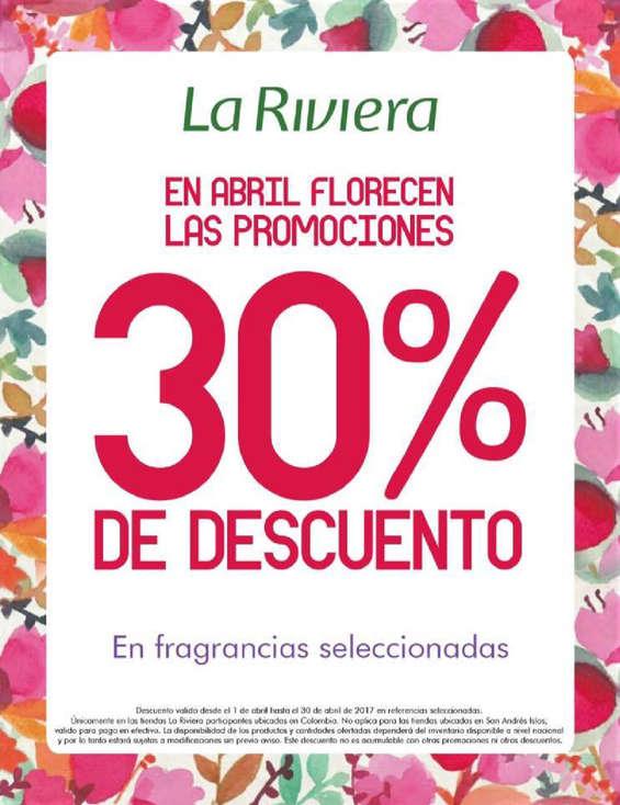 Ofertas de La Riviera, En Abril florecen las promociones