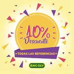 Ofertas de Macoly, 10% Descuento en todas las referencias
