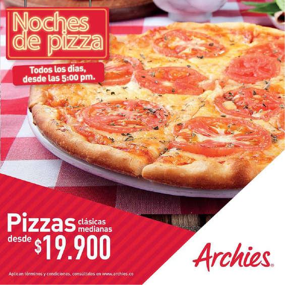 Ofertas de Archie's, Noches de pizza