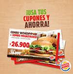 Ofertas de Burger King, ¡Usa tus cupones y ahorra!