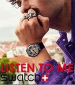 Ofertas de Swatch, Listen to me