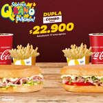 Ofertas de Sandwich Qbano, Dupla Combo