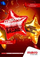 Ofertas de Makro, Makro Aniversario, celebramos en grande - ¡Disfrute ahorrando con nosotros!