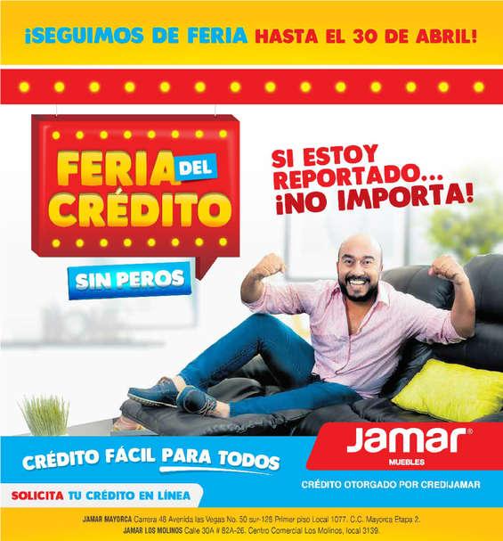 Ofertas de Muebles Jamar, Catálogo ¡Seguimos en feria hasta el 30 de Abril! - Medellín