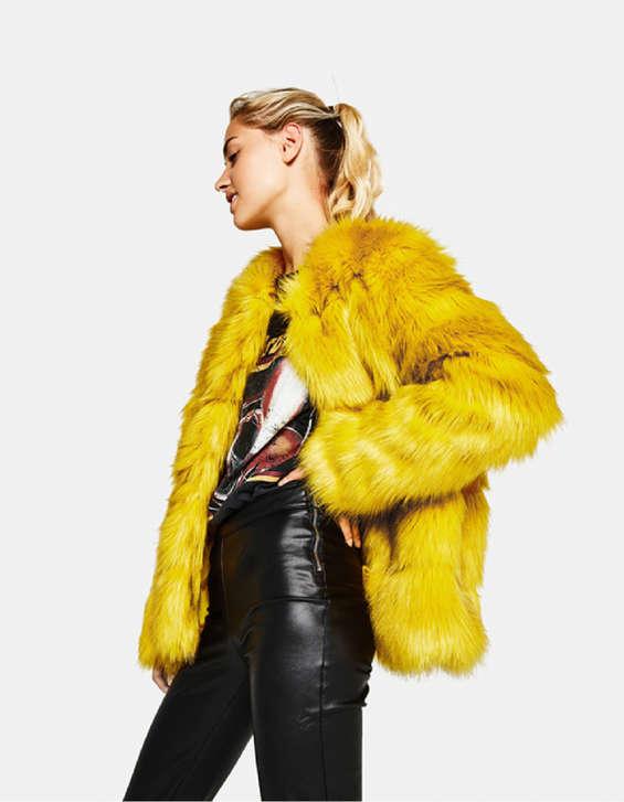 Ofertas de Bershka, Colección Faux Fur