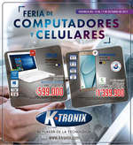 Ofertas de KTronix, Feria de computadores y celulares - Bucaramanga