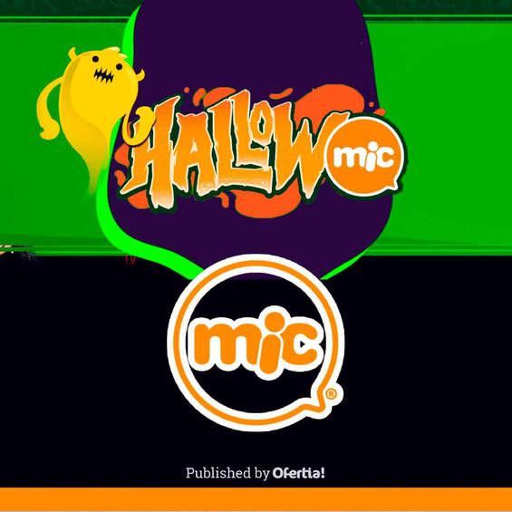 Ofertas de Mic Kids, Mic hallowmic