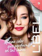 Ofertas de L'bel, Máximo color que perdura en tus labios - Campaña 10 de 2017