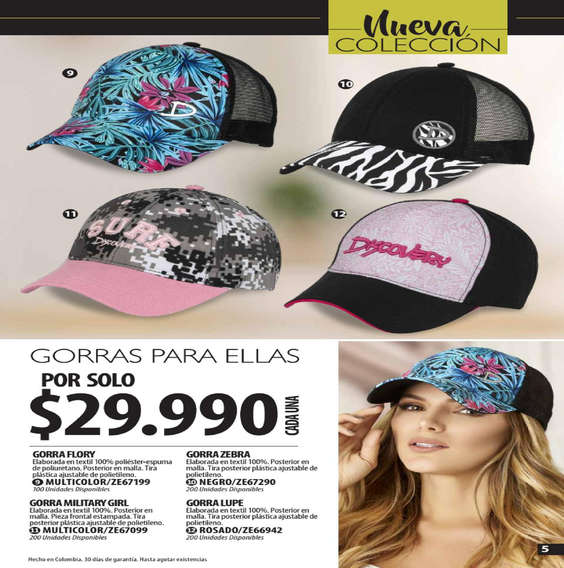 3cc6dd61bd1cc Comprar Gorras en Rionegro - Tiendas y promociones - Ofertia