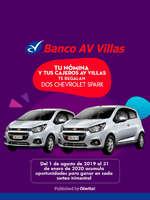 Ofertas de Av Villas, Banco Villas nómina