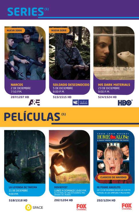 Ofertas de DirecTV, DirecTV Diciembre
