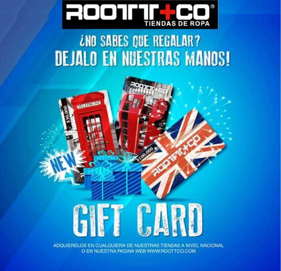 Ofertas de Root + Co, Gift Card