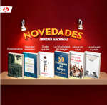 Ofertas de Librería Nacional, Novedades Libreria